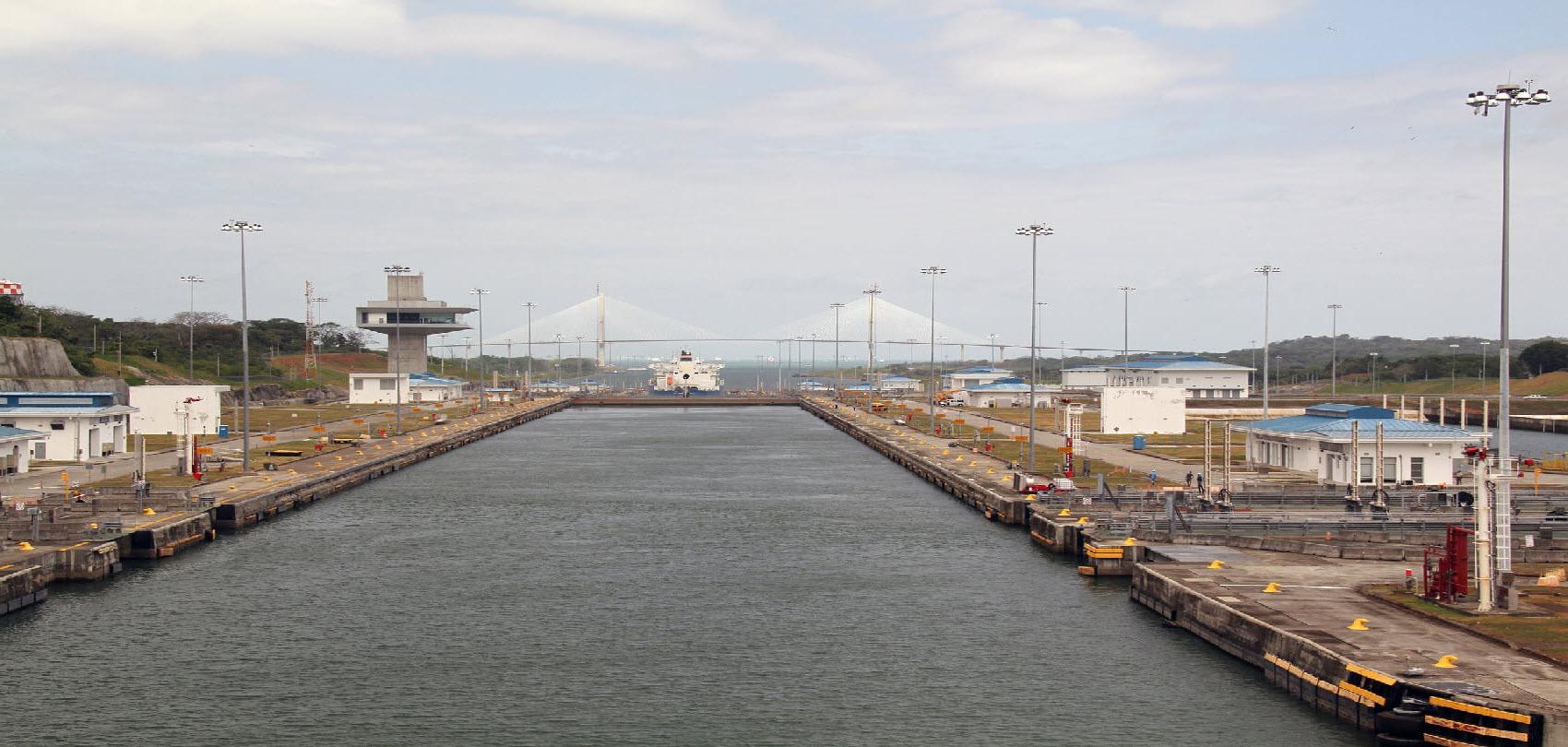 Panama Canal Crossing